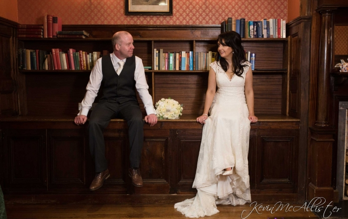 Mrs Sharon Sutton wears Pronovias Wedding Dress