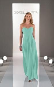 Sorella Vita Bridesmaid gown dress