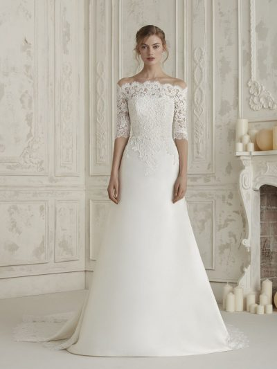 Wedding Dress 2019, Pronovias ELINE, Romantique Bridal, Magherafelt Northern Ireland