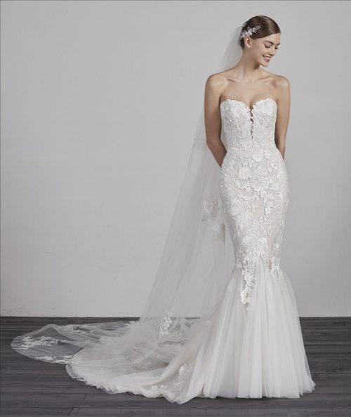 Wedding Dress, Pronovias ERCILIA, Romantique Bridal, Magherafelt Northern Ireland
