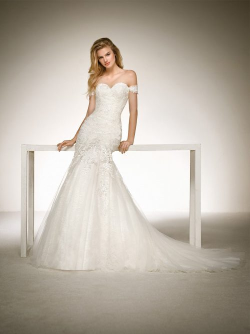 WEDDING DRESS SALE DONA PRONOVIAS Romantique Bridal Magherafelt Northern Ireland