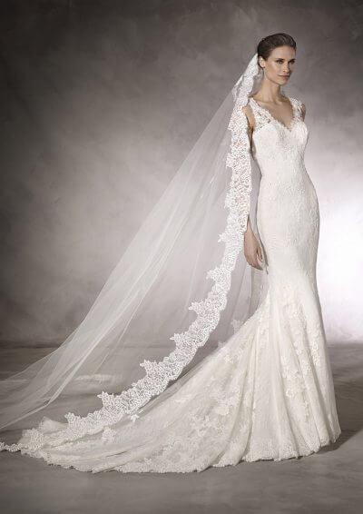 KAUR 2019 Pronovias Wedding Dress. Romantique Bridal, Magherafelt, Northern Ireland Tel 02879300632