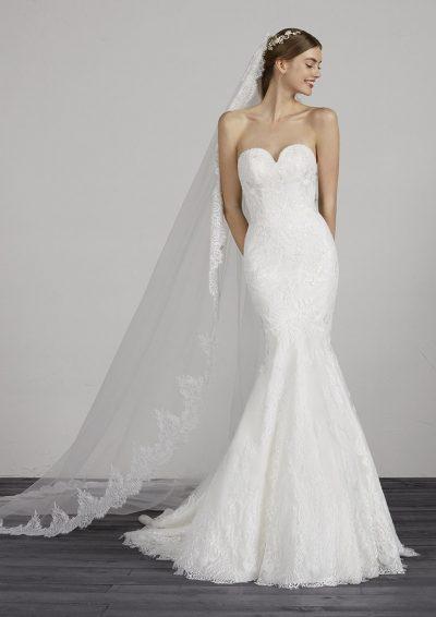 MAIKA 2019 Pronovias Wedding Dress. Romantique Bridal, Magherafelt, Northern Ireland Tel 02879300632