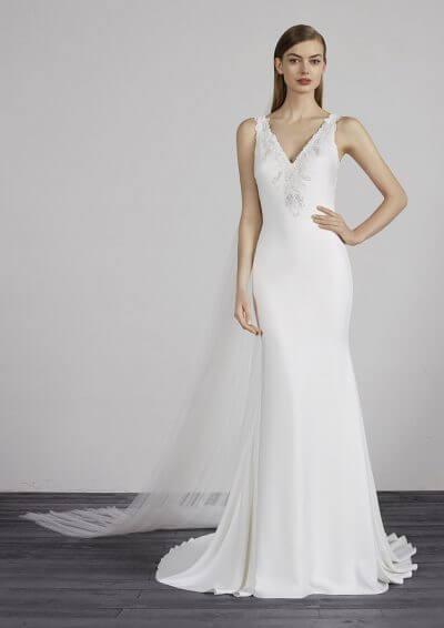 MERIDA 2019 Pronovias Wedding Dress. Romantique Bridal, Magherafelt, Northern Ireland Tel 02879300632