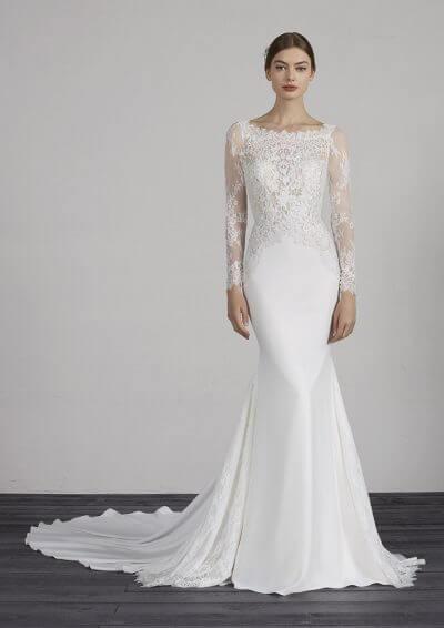 MISTIC 2019 Pronovias Wedding Dress. Romantique Bridal, Magherafelt, Northern Ireland Tel 02879300632