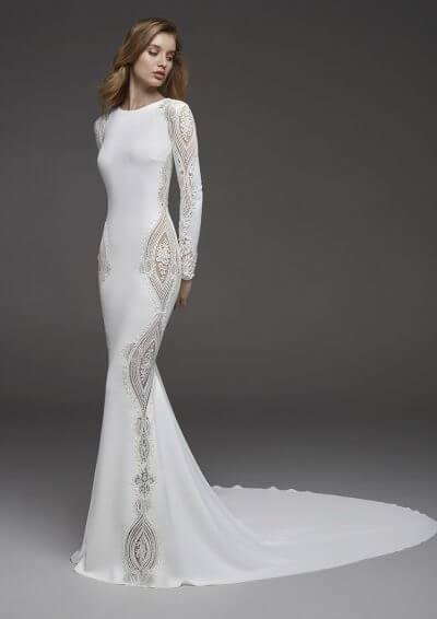 Wedding Dress 2019, Atelier Pronovias CONDESA, Romantique Bridal, Magherafelt Northern Ireland Tel 028 7930 0632