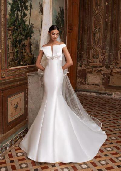 ALTAIR Pronovias Wedding Dress 2020, Romantique Bridal, Magherafelt, Northern Ireland Tel 02879300632