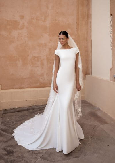 ANITRA Pronovias Wedding Dress 2020, Romantique Bridal, Magherafelt, Northern Ireland Tel 02879300632