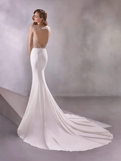 Wedding Dress 2020, Atelier Pronovias INFINITY, Romantique Bridal, Magherafelt Northern Ireland Tel 028 7930 0632