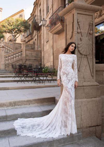 TELESTO Pronovias Wedding Dress 2020, Romantique Bridal, Magherafelt, Northern Ireland Tel 02879300632