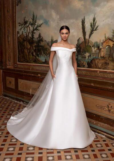 TUCANA Pronovias Wedding Dress 2020, Romantique Bridal, Magherafelt, Northern Ireland Tel 02879300632