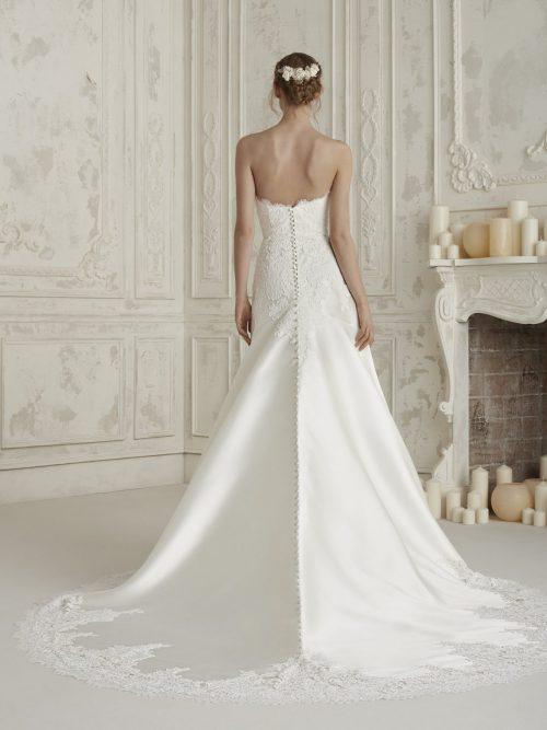 PRONOVIAS WEDDING DRESS ELINE ROMANTIQUE BRIDAL MAGHERAFELT Northern Ireland TEL 028 79300632