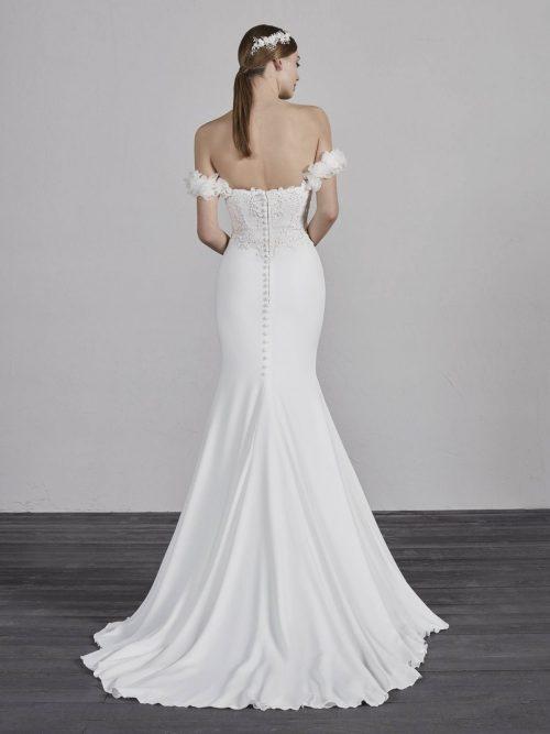 PRONOVIAS WEDDING DRESS ENID ROMANTIQUE BRIDAL MAGHERAFELT Northern Ireland TEL 028 79300632