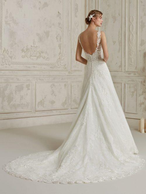 Wedding Dress Pronovias MALMA, Romantique Bridal, Magherafelt Northern Ireland
