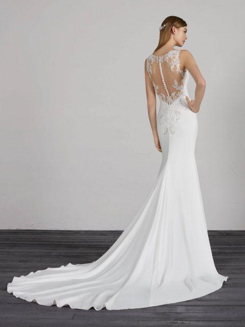 MERIDA Pronovias Wedding Dress. Romantique Bridal, Magherafelt, Northern Ireland Tel 02879300632