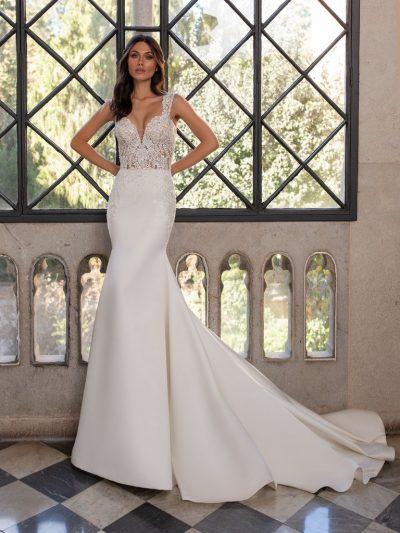 Wedding Dress Pronovias CARLO, Romantique Bridal, Magherafelt Northern Ireland