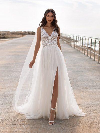 Wedding Dress Pronovias CHARISSE, Romantique Bridal, Magherafelt Northern Ireland