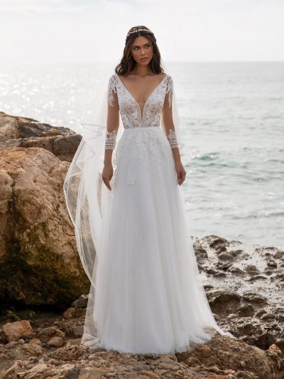 Wedding Dress Pronovias MILLER, Romantique Bridal, Magherafelt Northern Ireland