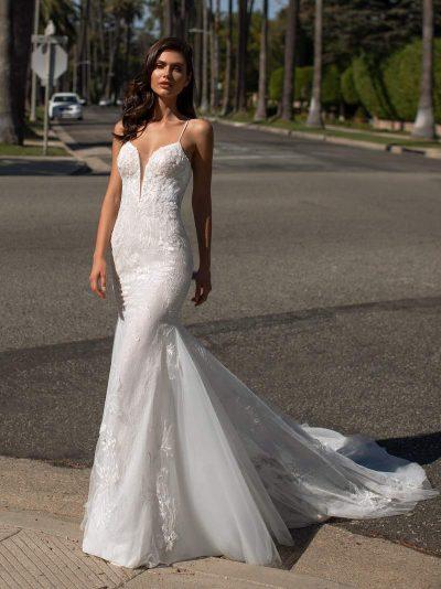 Wedding Dress Pronovias JONES, Romantique Bridal, Magherafelt Northern Ireland